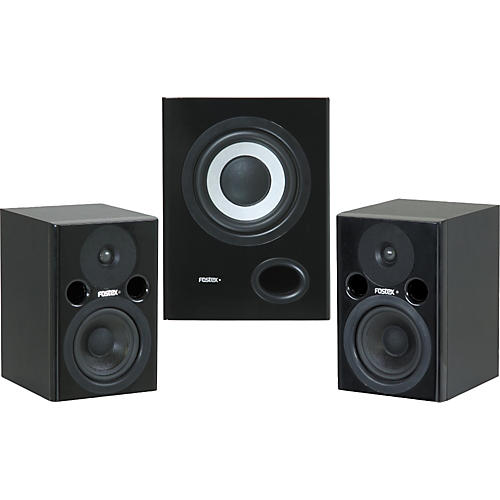 Fostex PM0.4 and PM0.5 Sub 2.1 System
