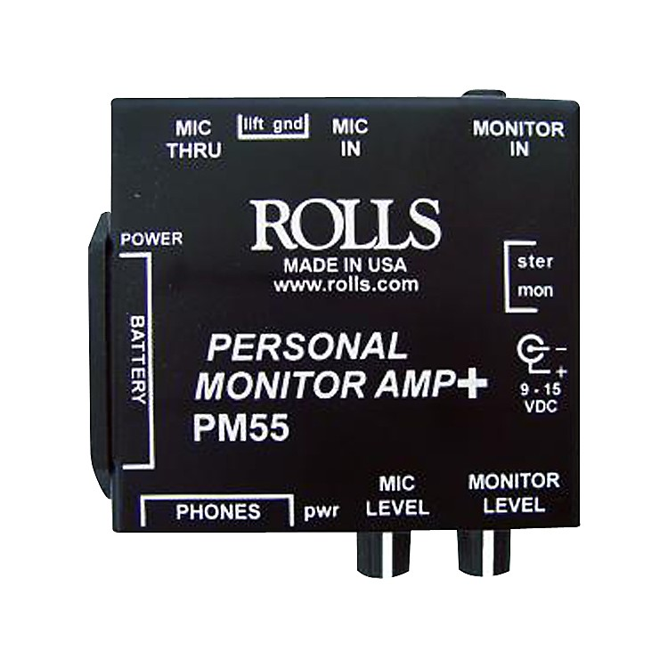 RollsPM55 Personal Monitor Amp +