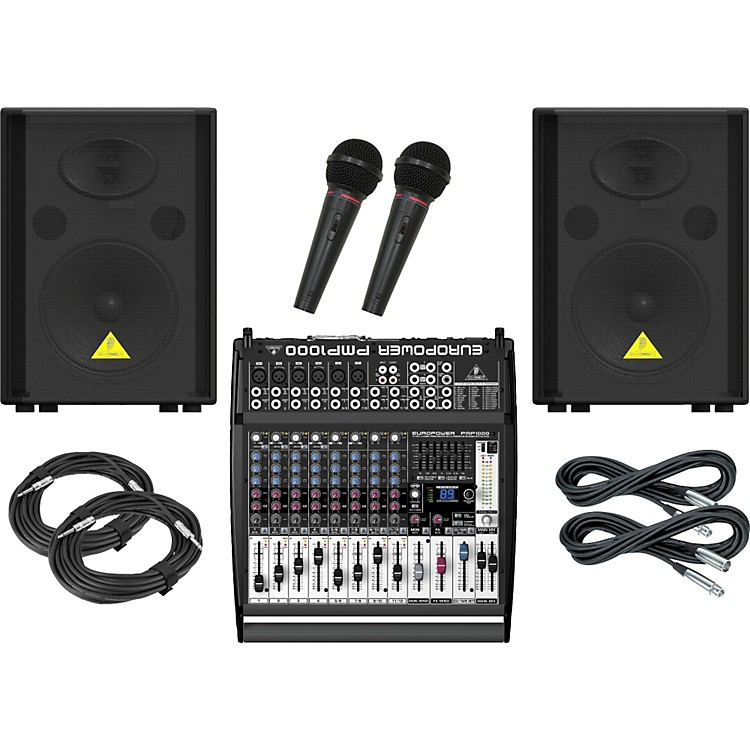 Behringer PMP1000 / VP1220 PA Package