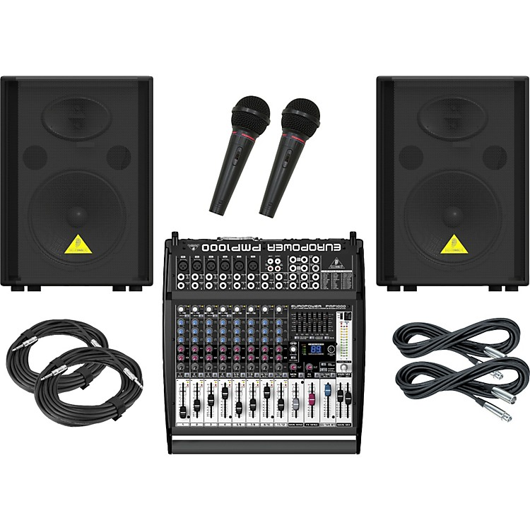 Behringer PMP1000 / VS1220 PA Package