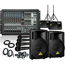 Behringer PMP1680S / B212XL Mains and Monitors PA Package
