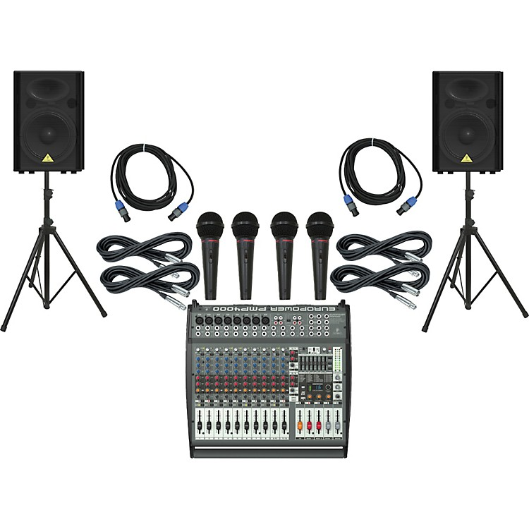 Behringer PMP4000 / VP1520 PA Package