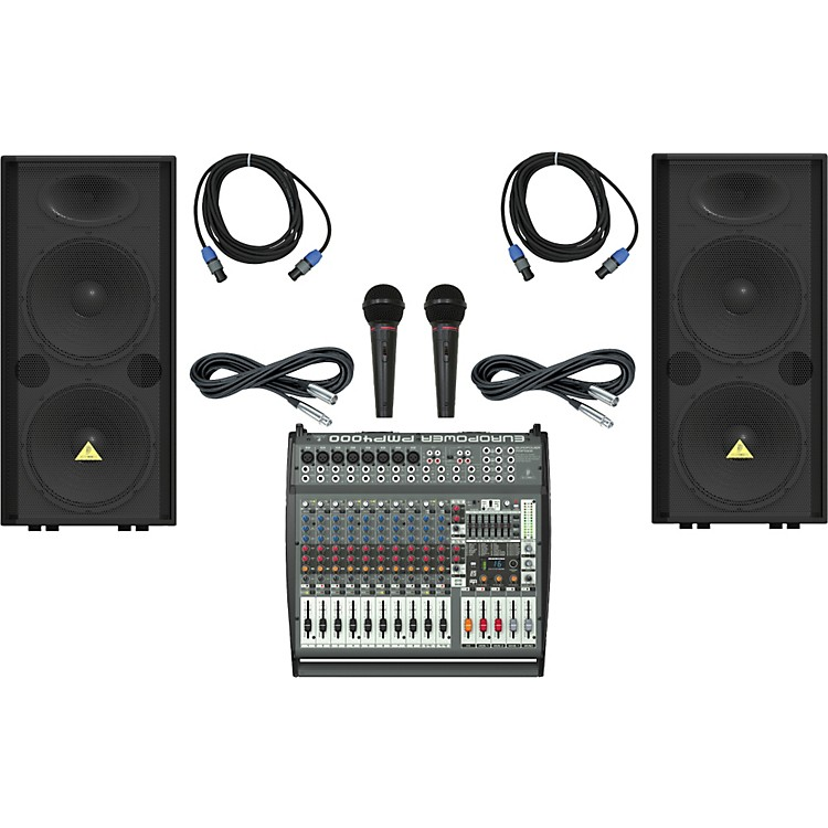 Behringer PMP4000 / VP2520 Live Sound Bundle