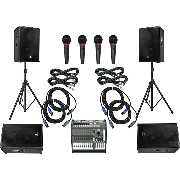 Behringer PMP4000/B1520 PRO Mains & Monitors PA Package