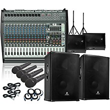 Behringer PMP6000/B1520 PRO Mains & Monitors PA Package
