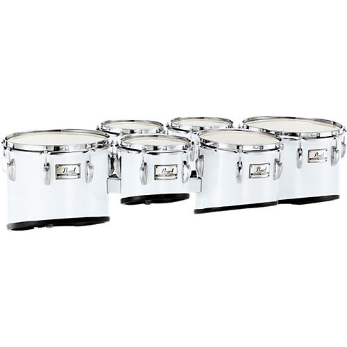 Pearl PMT-660234/A Championship Maple Marching Sextet Tom Set 6, 6, 10, 12, 13, 14 #46 Midnight Black 6 X 8