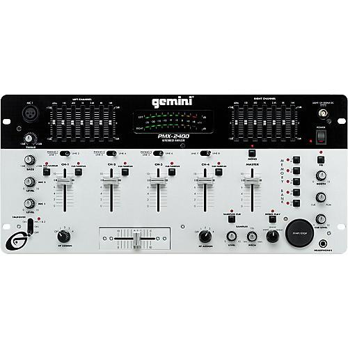 Gemini PMX-2400 Four-Channel DJ Mixer with Sampler-thumbnail
