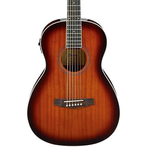 Ibanez PN12E Mahogany Parlor Acoustic-Electric Guitar-thumbnail