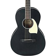 Ibanez PN14WK Mahogany Parlor Acoustic Guitar Weathered Black