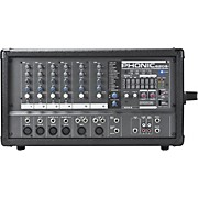 POWERPOD 620 PLUS 200-Watt 6-Channel Powered Mixer with DFX