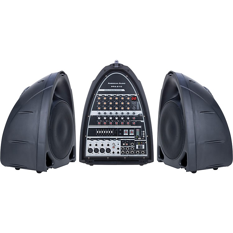 American DJPPA-210 - Portable Sound System