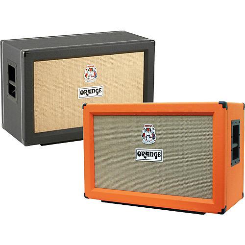 Orange Amplifiers PPC Series PPC212-C 120W 2x12 Closed Back Guitar Speaker Cabinet Orange Straight