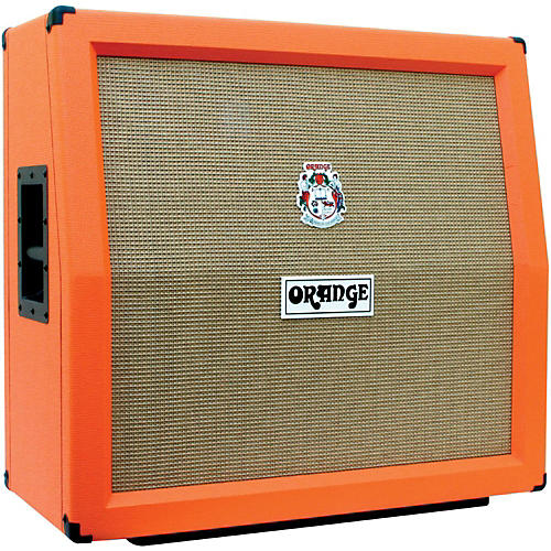 Orange Amplifiers PPC Series PPC412-A 240W 4x12 Guitar Speaker Cabinet Orange Slant