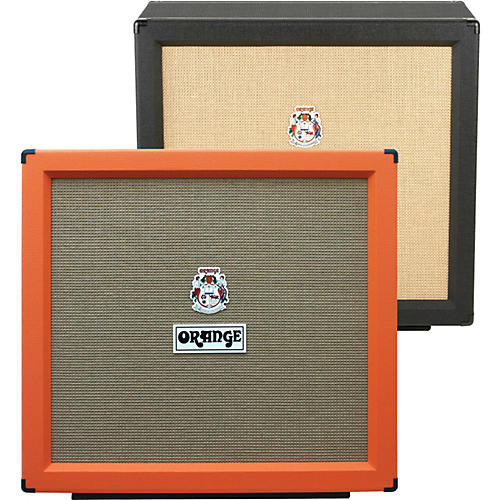 Orange Amplifiers PPC Series PPC412-C 240W 4x12 Guitar Speaker Cabinet Black Straight