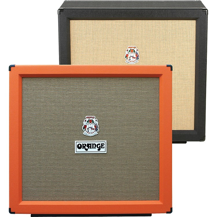 Orange Amplifiers PPC Series PPC412-HP 400W 4x12 Guitar Speaker Cabinet Black Straight