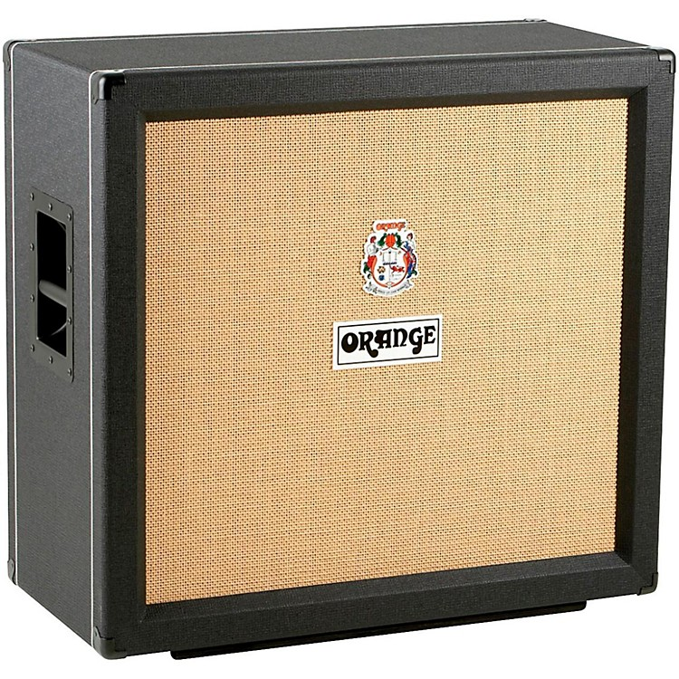 Orange Amplifiers PPC412 4x12 240W Compact Closed-Back Guitar Speaker Cabinet Black