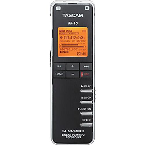 Tascam PR-10 Linear PCM Recorder-thumbnail