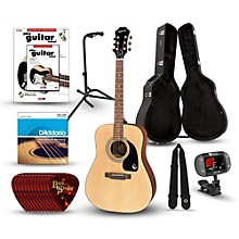 Epiphone PR-150 Acoustic Guitar Deluxe Bundle