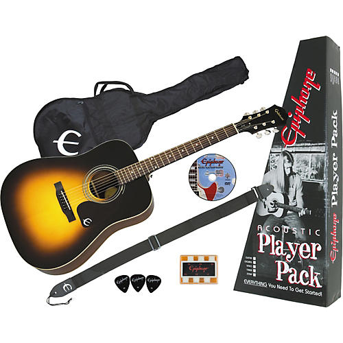 Epiphone PR-150 Acoustic Guitar Value Pack