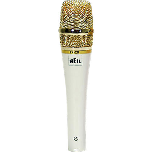 Heil Sound PR20W White Pearl Special Edition Handheld Dynamic Microphone