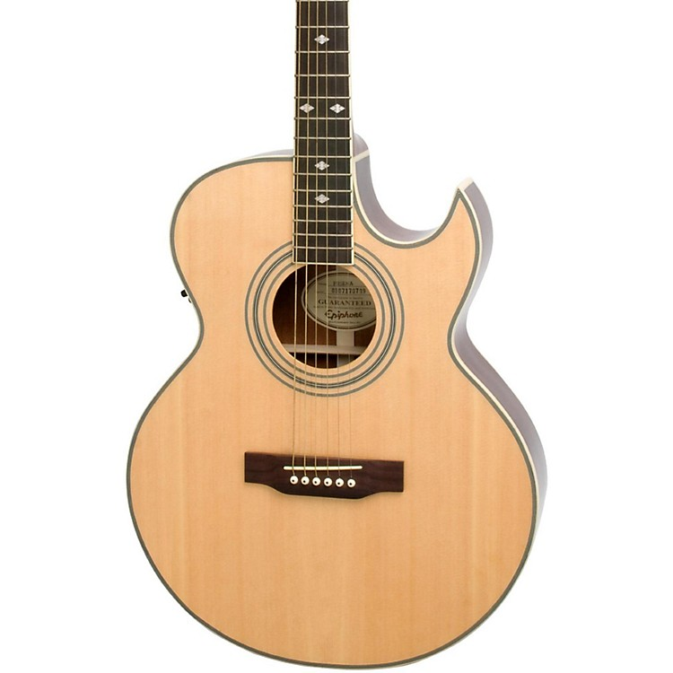Epiphone PR5-E Acoustic-Electric Guitar Natural