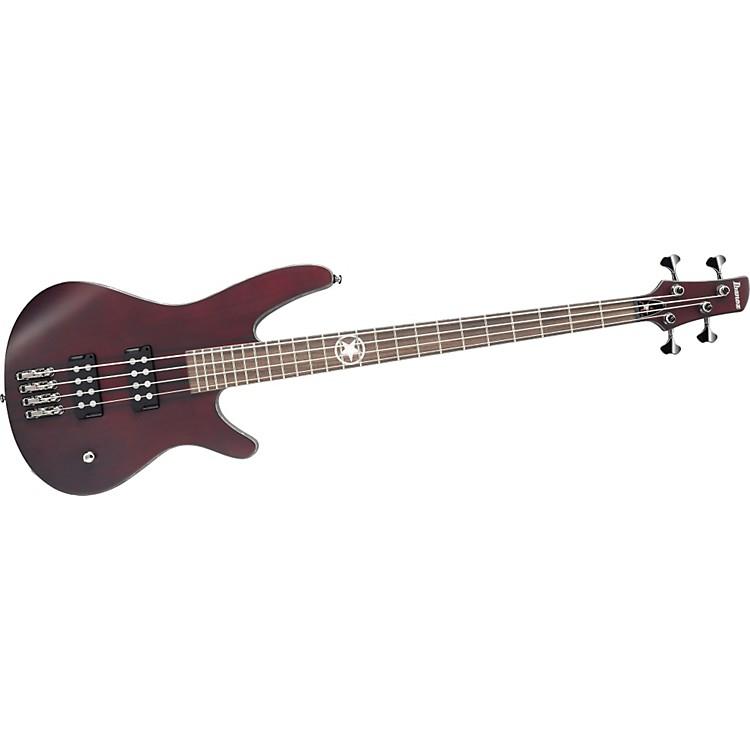 IbanezPRB1 Paul Romanko Signature Bass GuitarBurgundy Wine Flat