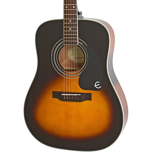 epiphone pro 1 plus acoustic guitar vintage sunburst musician 39 s friend. Black Bedroom Furniture Sets. Home Design Ideas