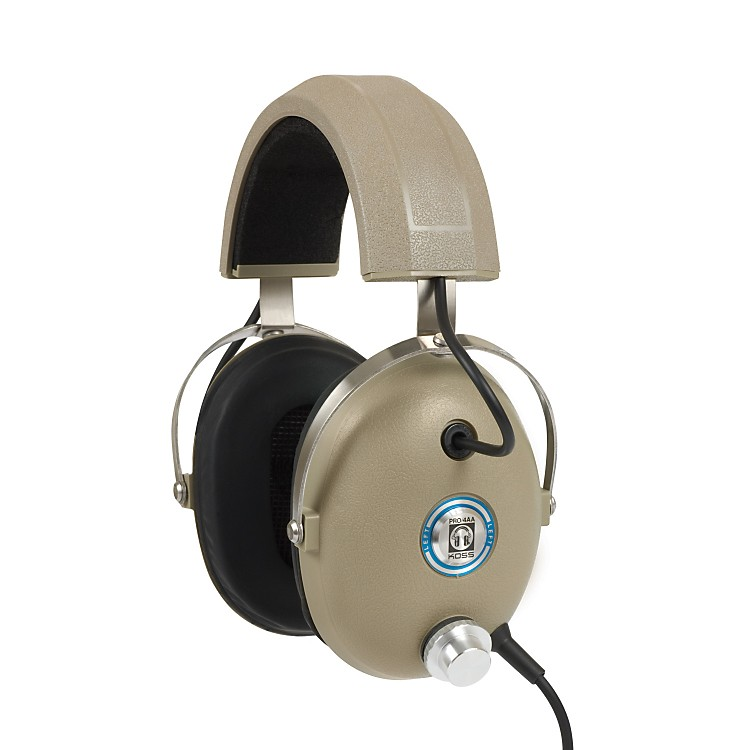 KossPRO4AA Noise-Isolating Professional Studio HeadphonesTan