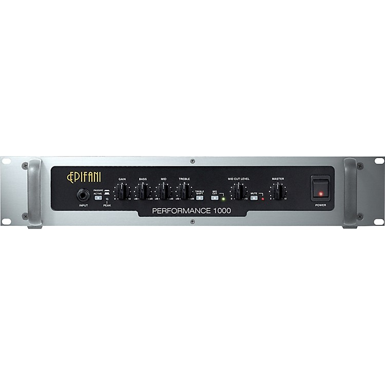 Epifani PS 1000 Bass Amp Head Black