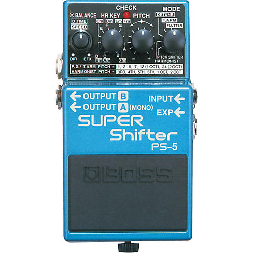 Boss PS-5 SUPER Shifter Pedal