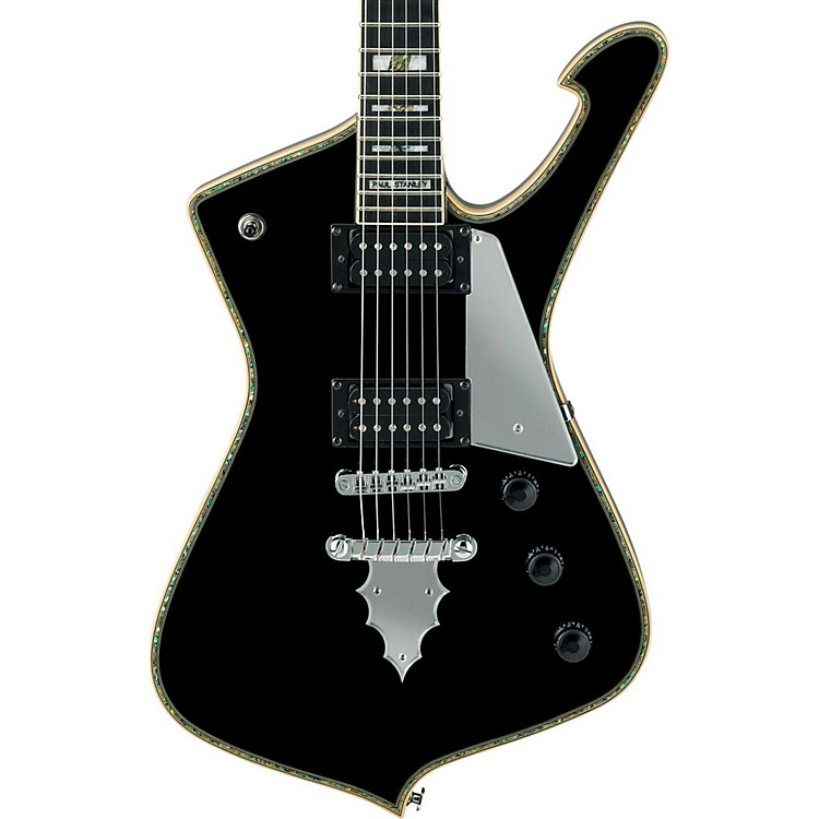 ibanez ps series ps120 paul stanley signature electric guitar gloss black musician 39 s friend. Black Bedroom Furniture Sets. Home Design Ideas