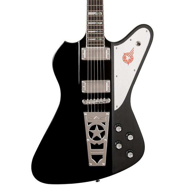 WashburnPS12 Paul Stanley Starfire Electric GuitarBlack