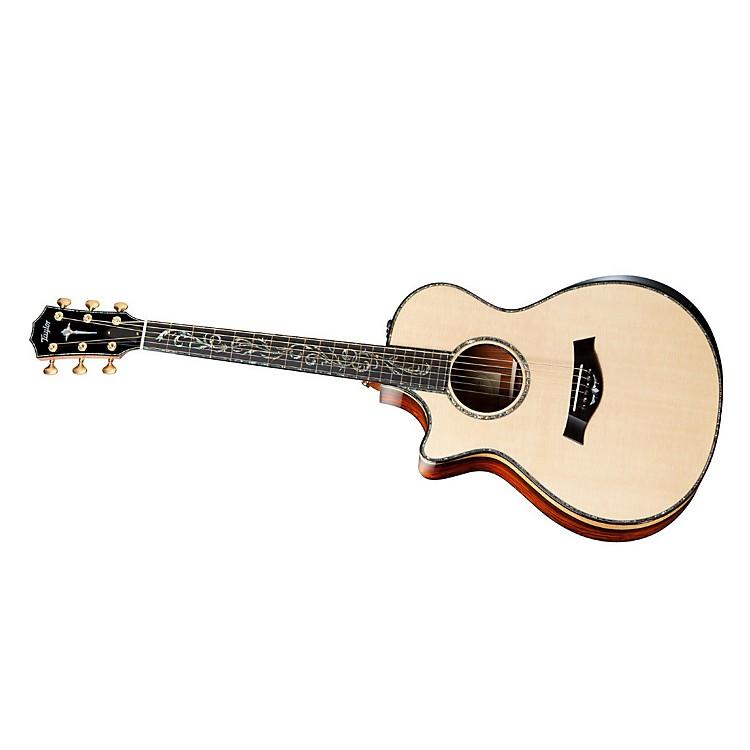 TaylorPS12ce-L Presentation Series Cocobolo/spruce Grand Concert Left-Handed Acoustic-Electric Guitar