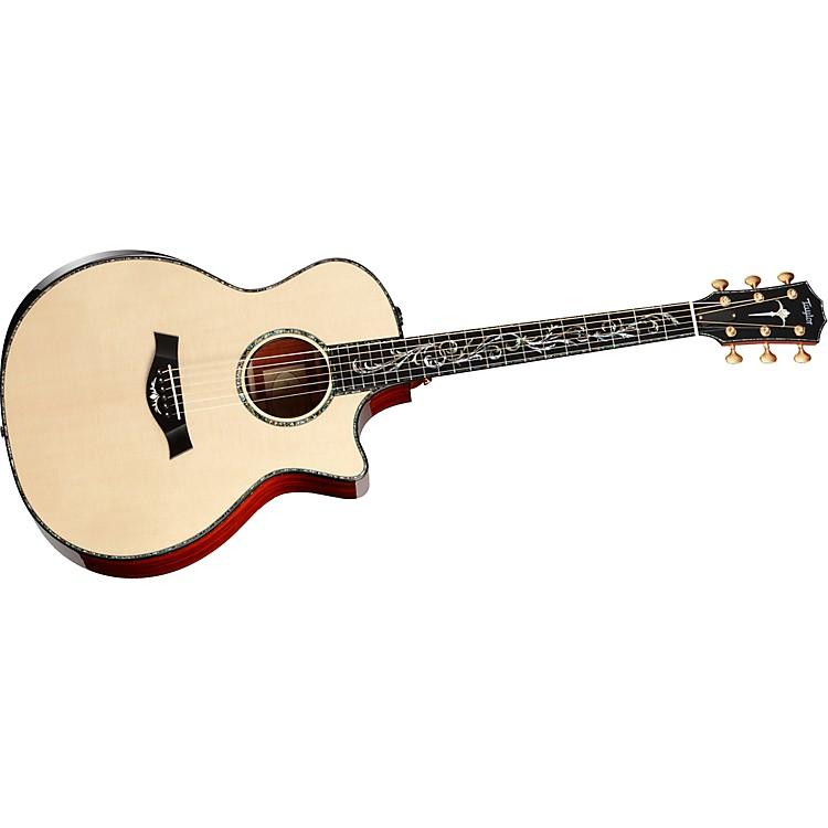 TaylorPS14ce-L Presentation Series Cocobolo/Spruce Grand Auditorium Left-Handed Acoustic-Electric Guitar