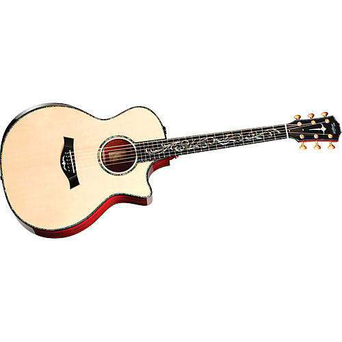 Taylor PS14ce Presentation Series Grand Cocobolo/Spruce Auditorium Acoustic-Electric Guitar