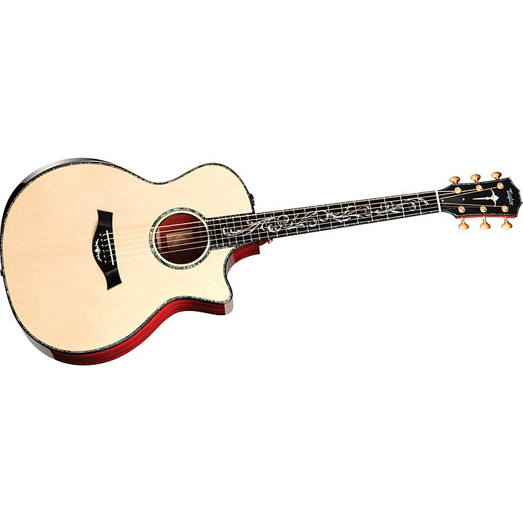 Taylor PS14ce Presentation Series Grand Cocobolo/Spruce Auditorium Acoustic-Electric Guitar