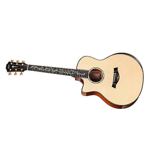 Taylor PS16ce-L Presentation Series Cocobolo/Spruce Grand Symphony Left-Handed Acoustic-Electric Guitar