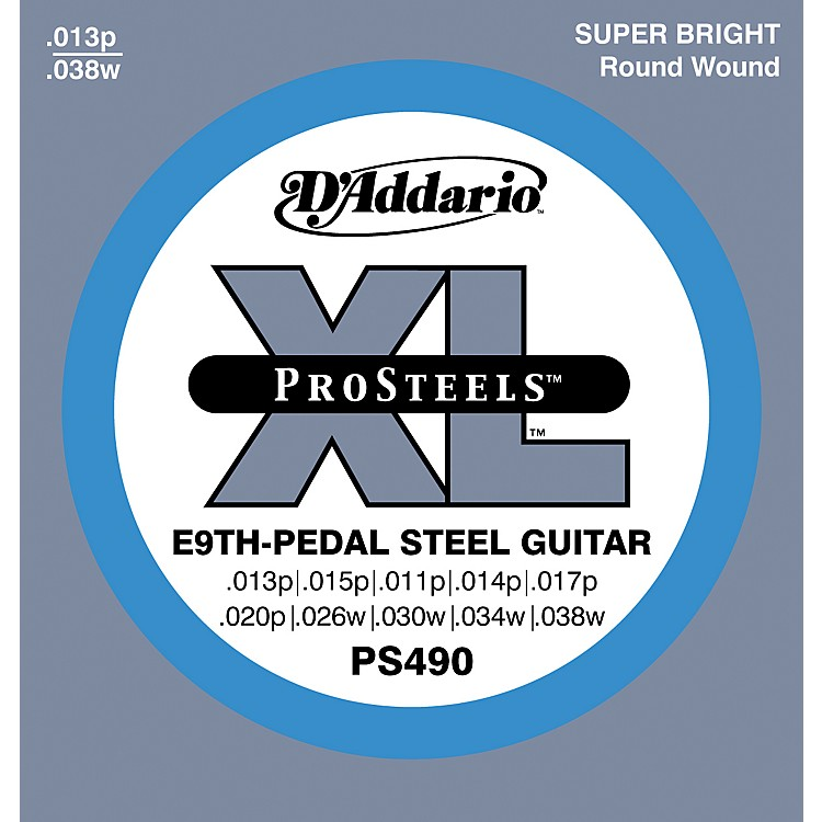 D'Addario PS490 ProSteels E9th Pedal Steel Guitar Strings