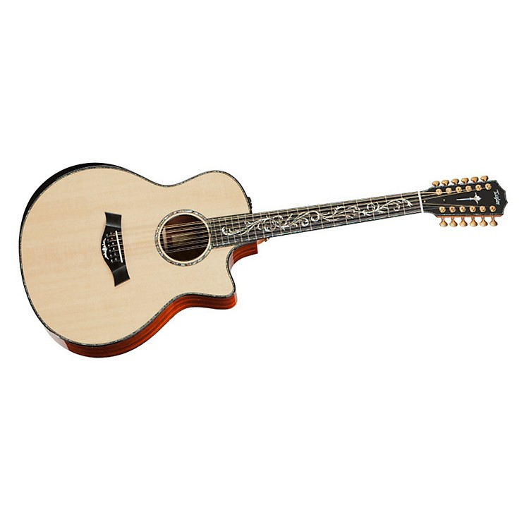 Taylor PS56ce Presentation Series Cocobolo/Spruce Grand Symphony 12-String Acoustic-Electric Guitar