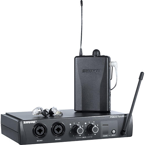 Shure PSM 200 Wireless Personal Monitoring System with SE215 Earphones