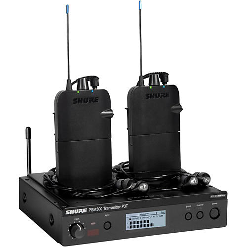 Shure PSM 300 Twin Pack