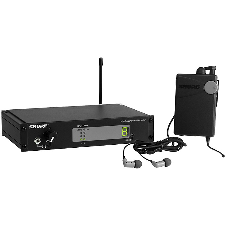 shure psm 400 wireless personal monitor system musician 39 s friend. Black Bedroom Furniture Sets. Home Design Ideas