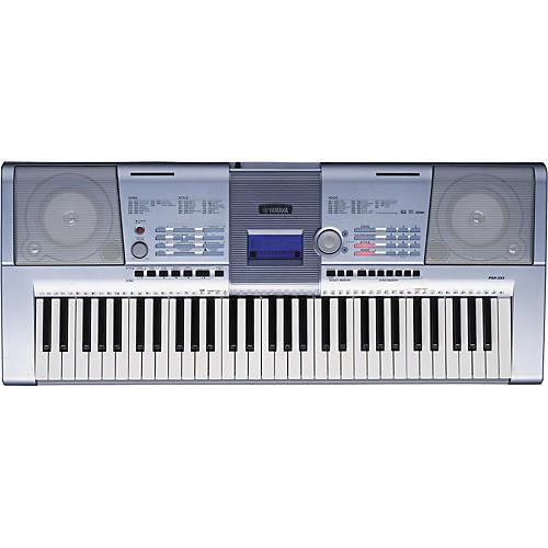 Yamaha psr 293 61 key portable keyboard musician 39 s friend for Yamaha piano keyboard 61 key psr 180