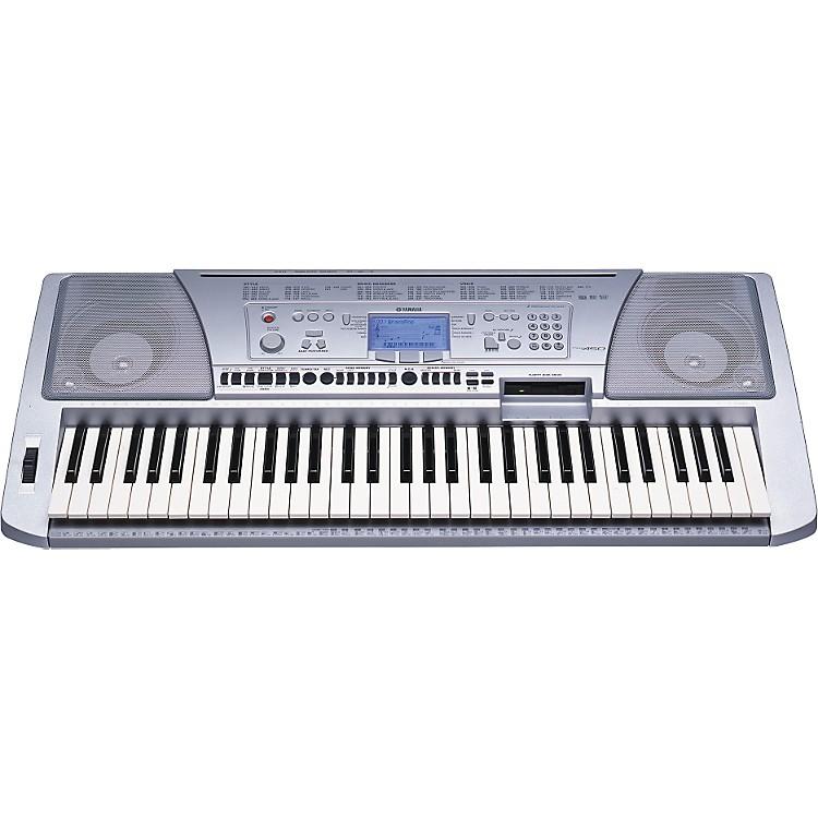Yamaha psr 450 61 key portable keyboard with disk drive for Yamaha piano keyboard 61 key psr 180