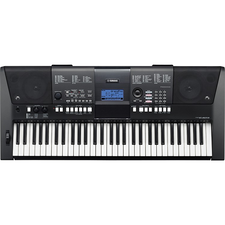 YamahaPSR E-423 61-Key Portable Keyboard w/ Survival Kit