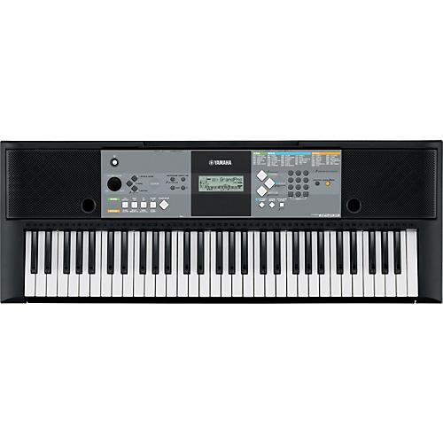 Yamaha psr e233 61 key entry level portable keyboard for Yamaha piano keyboard 61 key psr 180