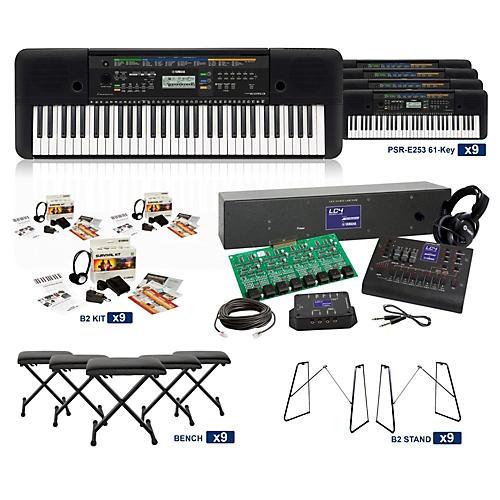 Yamaha PSR-E253 61-Key LC4 Keyboard Lab-thumbnail