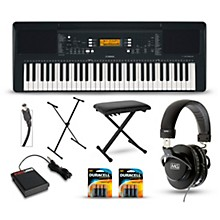 Yamaha PSR-E363 61-Key Portable Keyboard Packages