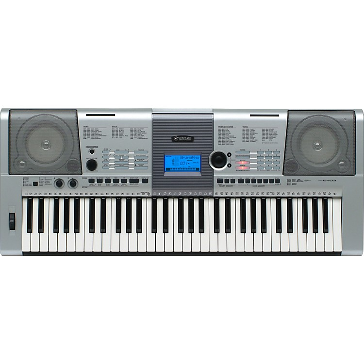 yamaha psr e403 61 key portable keyboard musician 39 s friend. Black Bedroom Furniture Sets. Home Design Ideas