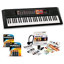 Yamaha PSR-F51 61-Key Portable Keyboard Package Essentials Package